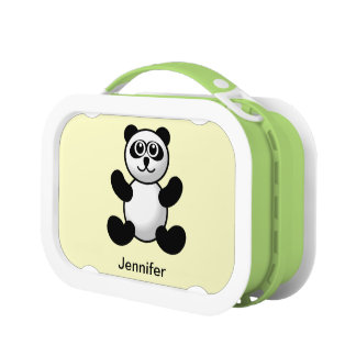 Customized Baby Panda Bear Lunch Box