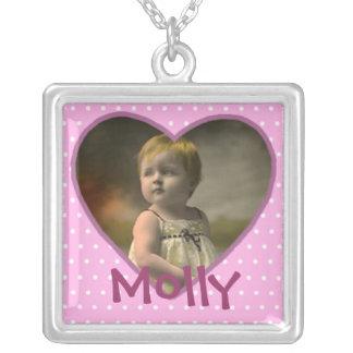 Customized Baby Photo Necklace