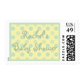 Customized Baby Shower Stamp