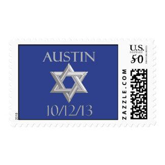 Customized Bar Mitzvah Postage