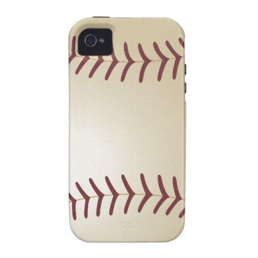 Customized Baseball iPhone 4/4S Covers