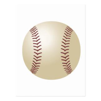 Customized Baseball Postcard