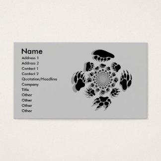 Customized Bear Business Cards