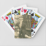 """Customized Bicycle Playing Cards<br><div class=""""desc"""">Put your face on a deck of cards... or a friend or your family.  Great gift item and perfect stocking stuffer for Christmas!  Perfect gift for a sibling or parent,  by using old family photos!</div>"""