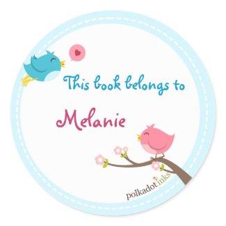 Customized Birdie Stickers Book sticker