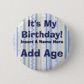 Customized Birthday Button