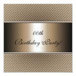 "Customized Birthday Party Invitations 5.25"" Square Invitation Card"