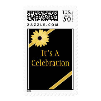 Customized Birthday Party Invite Postage Stamps