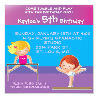 Customized BirthdayParty Invitations