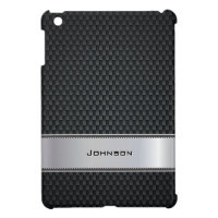 Customized Black Metal Pattern with Steel Plate | Case For The iPad Mini