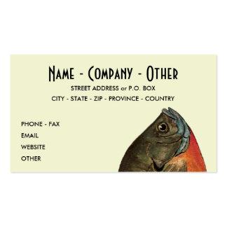 Customized Bluegill Business Card Template