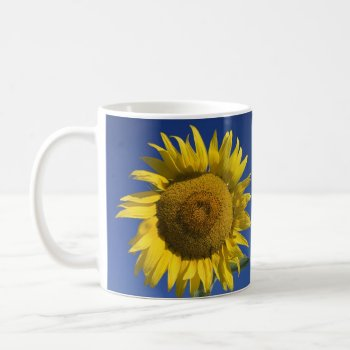 Customized Bright Sunflower Mug by CREATIVEforHOME at Zazzle