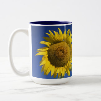 CUSTOMIZED BRIGHT SUNFLOWER MUG
