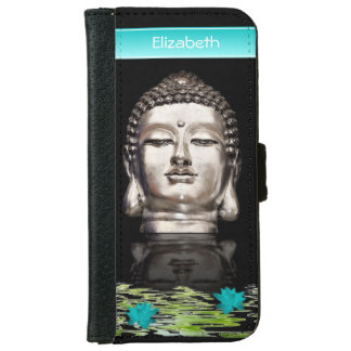 Customized Buddha Head Statue iPhone 6/6s Wallet Case