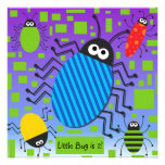 Customized Buggy Birthday Invitation