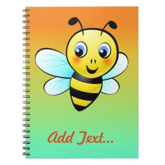 Customized Bumblebee Cartoon Notebook