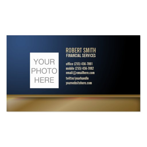 Customized Business Card with your Photo