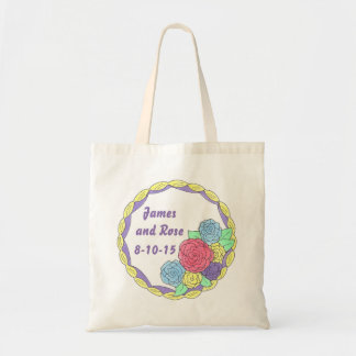 Customized Cake Wedding or Anniversary Party Tote