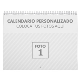 Customized calendars 2018 with photo sole