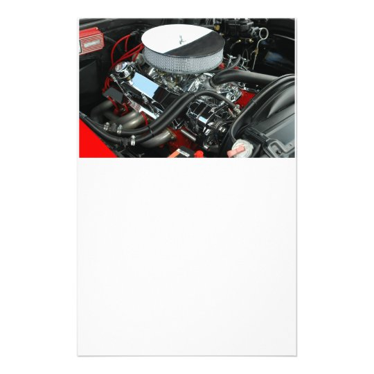Customized Car Engine Flyer