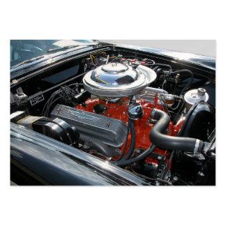 Customized Car Engine Large Business Card