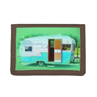 Customized caravan gypsy casa trifold wallet