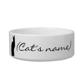 Customized Cat Food Bowl