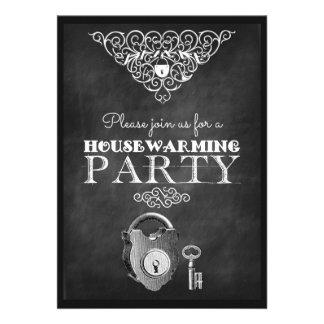 Customized Chalkboard Housewarming Party Invites