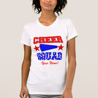 Customized CHEER SQUAD Tee Shirt
