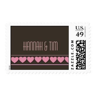 Customized chocolate postage