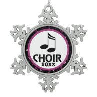 Customized Choir Music Gift Ornament