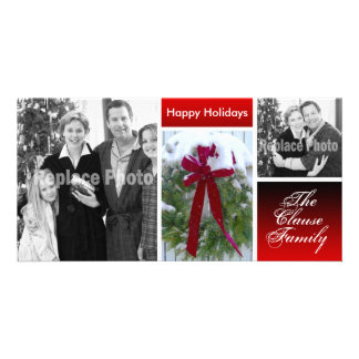 Customized Christmas Cards Holiday Photo Template