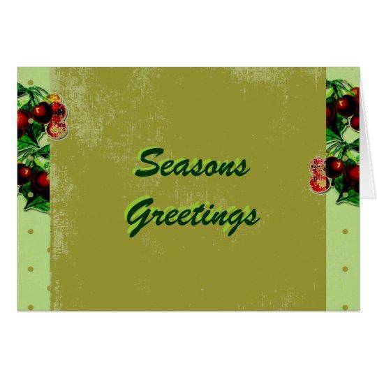Customized Christmas Greeting Card