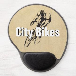 Customized City Bikes Racing Gel Mousepad
