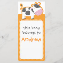 Customized*Cow Bookmarks Book