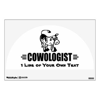 Customized Cow Wall Decal