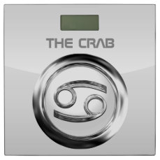 Customized Crab Astrological Sign Bathroom Scale