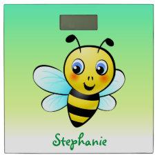 Customized Cute Bumblebee Cartoon Bathroom Scale