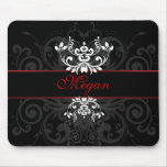 Customized Dark Elegance Mouse Pads