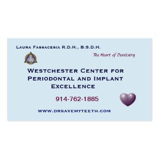 Customized Dental Business Card