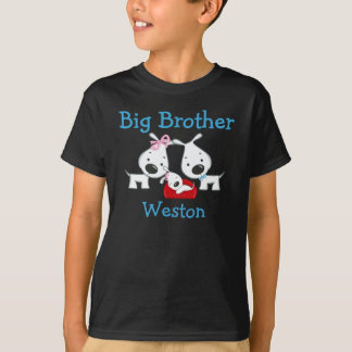 Customized Dogs Big Brother T-shirt
