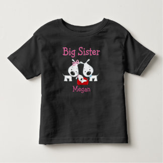 Customized Dogs Big Sister T-shirt