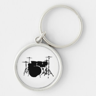 Customized Drum Set Keychains