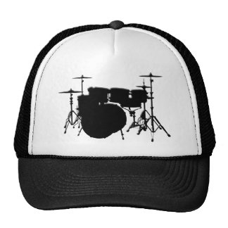 Customized Drum Set Trucker Hat
