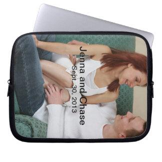 Customized Engagement Laptop Computer Sleeve