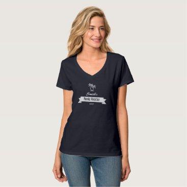 Beach Themed Customized Family Vacation Shirt