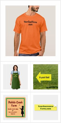Customized Farm Promotion & Other Farm Items - All