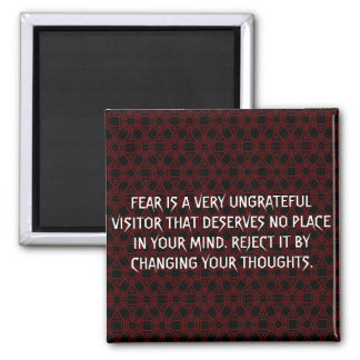 Customized Fear, Thoughs And Mind Magnet. Magnet