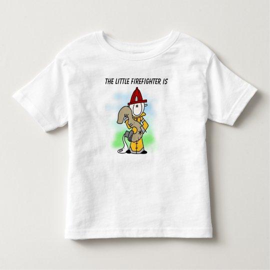 Customized Firefighter 3rd Birthday T-shirt