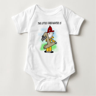Customized Firefighter First Birthday T-shirt